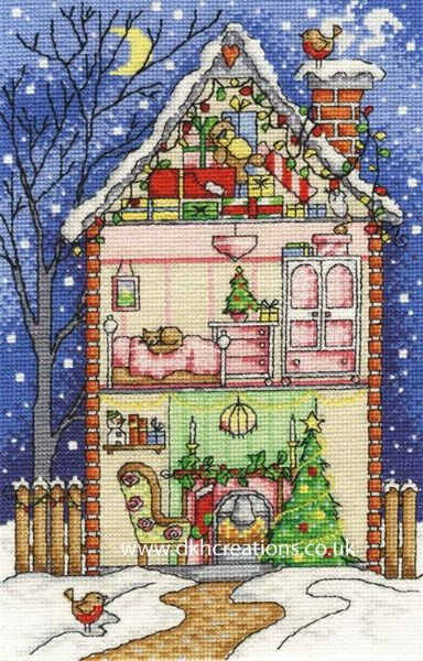 Christmas At Home Cross Stitch Kit